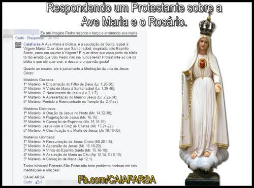A Ave Maria é bíblica