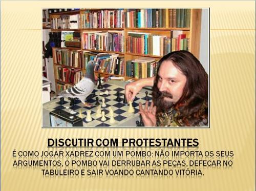 discutir com protestante